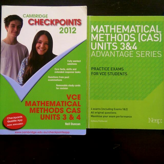VCE Maths Methods - Checkpoints & Neap