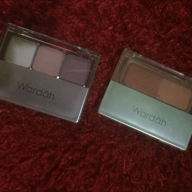 Wardah Eye Shadow, Wardah Blush