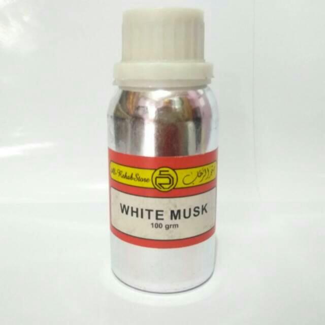 WHITE MUSK biang/bibit parfum 100ml by al rehab