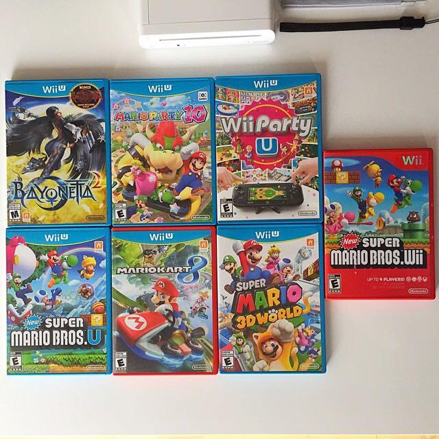 Wii U Games - $40 Each