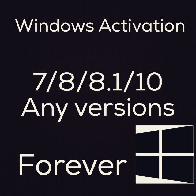 Windows Activation Code Forever
