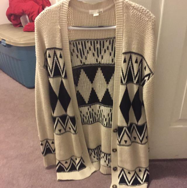 Wool Sweater From Garage