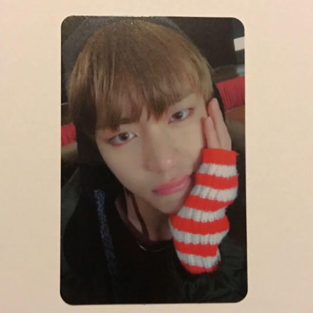 WTT BTS Taehyung For Jimin photocard