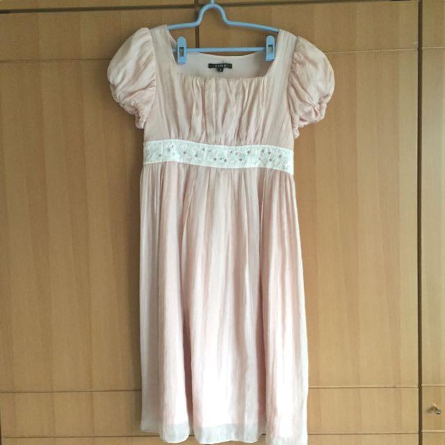 XING粉色洋裝 謝師宴、婚宴端莊好選擇