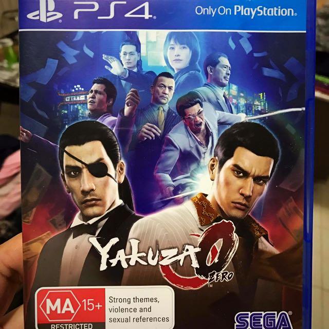 Yakuza Zero for PS4