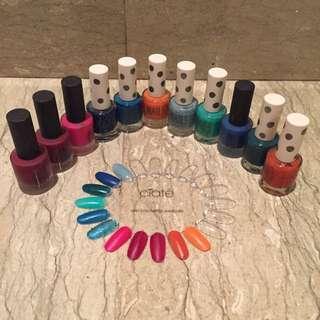 Topshop Nail Polish Collection