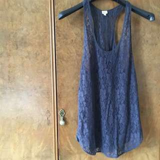 Wilfred Lace Top, Size Medium