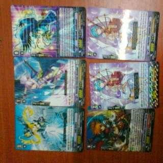 Vanguard Rare Cards A Total Of 30 Rare Cards
