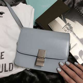 Celine Classic Small Box - Pale Blue