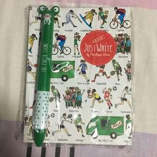 The Paper Stone - Milo Van Notebook