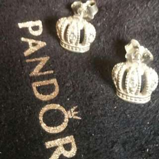 Pandora Royal Crown Earrings