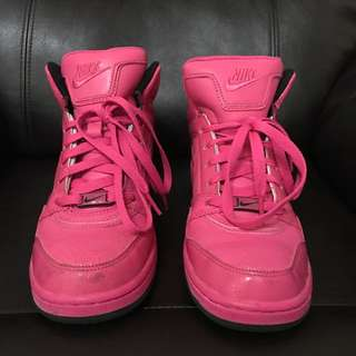 NIKE Pink High Dunk