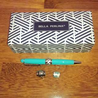 Bella Perlina Interchangeable Pen With Charms