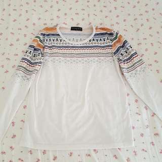 Patterned Long Sleeves