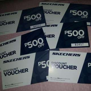 Freebies .Sketchers 500 Off