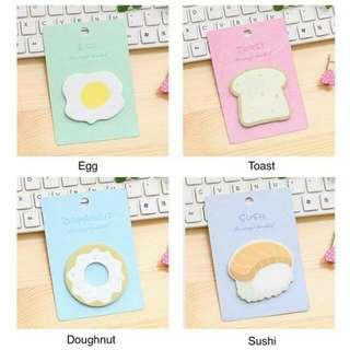Sticky Notes (breakfast)
