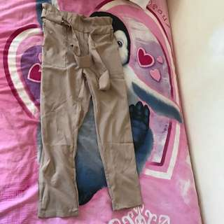 BNWT Tie Up Pants