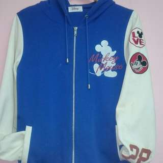 Mickey Hooded Zip