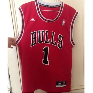 REDUCED Bulls Jersey by Adidas