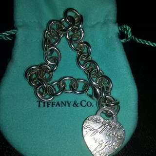 Tiffany Tag Bracelet Length 7 Inches