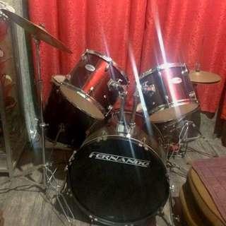 6pcs. Fernando Drumset