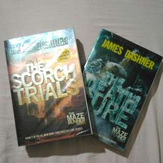 [2-in-1] The Maze Runner Books 2 And 3