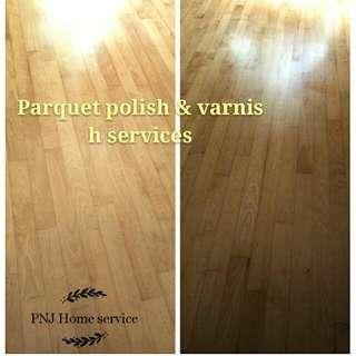Parquet Polish & Varnish