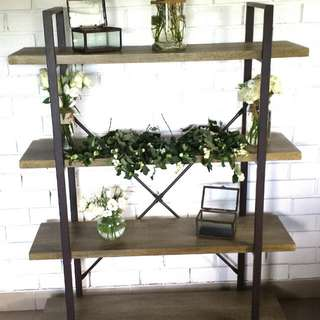 Rustic 4 Tier Shelf