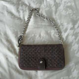 🚚 MaxMara Brown Wallet on a chain (detachable)