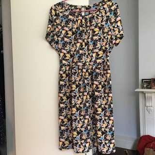 Oliver Bonas Size 10 Dress