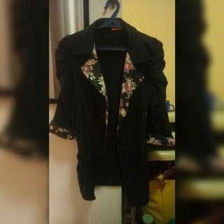 Blazer With Floral