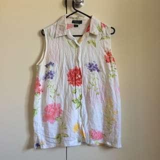 Vintage Summer Short Sleeve Shirt