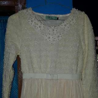 Dress Muslim Elegant..size S..