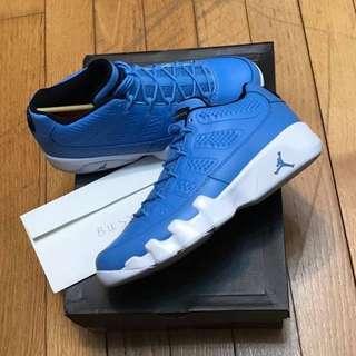 Nike X Jordan IX 9 Low UNC US9