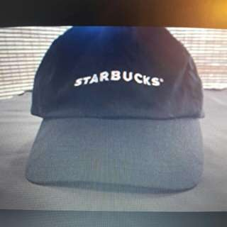 Worn Out Starbucks Barista Hat