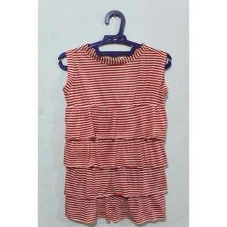 Babydoll Stripes V-014