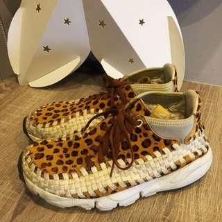 NIKE AIR FOOTSCAPE WOVEN CHUKKA PRM 豹紋編織鞋 余文樂著用