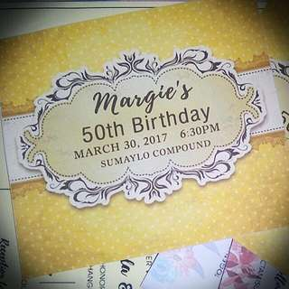 Affordable Birthday Invitations