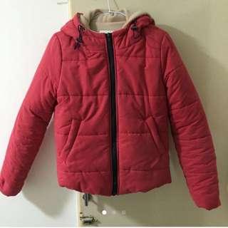 正韓💕莓紅外套