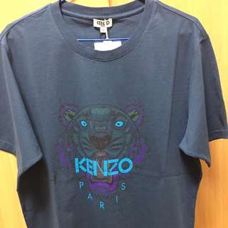 Kenzo 虎頭印刷短袖