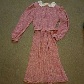 Gorgeous Vintage Dress Made In Australia