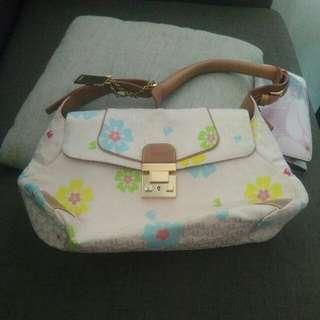 BONIA Floral Handbag