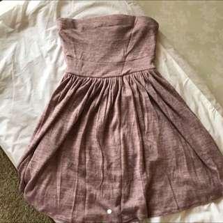 Zara Basic Tube Dress