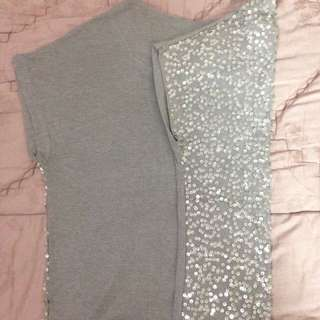 Sequine Top By Forever 21