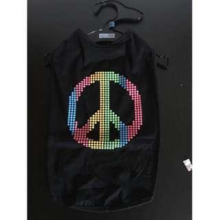 peace dog dress