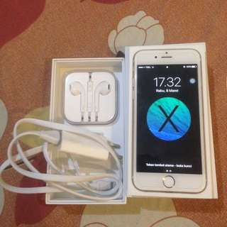 SALE ! Jual Iphone 6 Gold (16GB)
