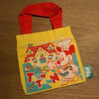 迪士尼 扭蛋 米奇 小提袋