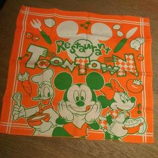 迪士尼 扭蛋 米奇 餐墊