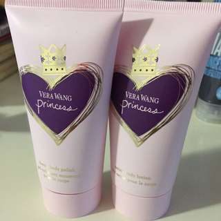 Body Polish And Body Lotion