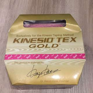 New Original 31.5m Kinesio Tex Gold Tape - Pink